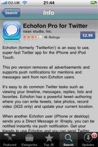 Echofon Pro App